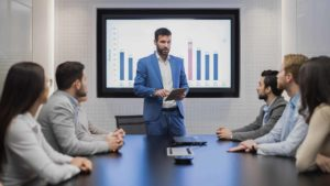 Giving an effective sales presentation