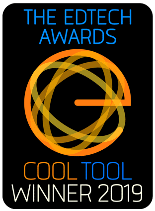 EdTech Awards Cool Tool Winner 2019
